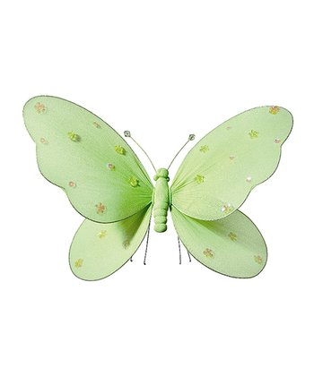 Green Extra-Large Jewel Butterfly