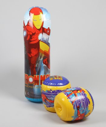 Iron Man Bop Bag & Glove Set