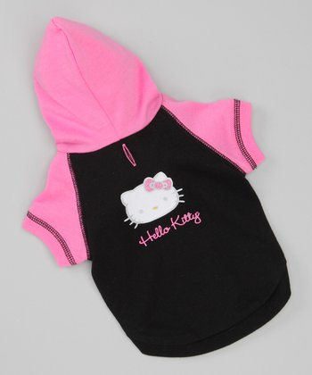 Pink Dog Hooded Tee