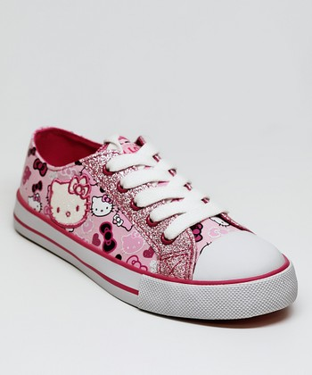 Pink Hello Kitty Lacy Sneaker