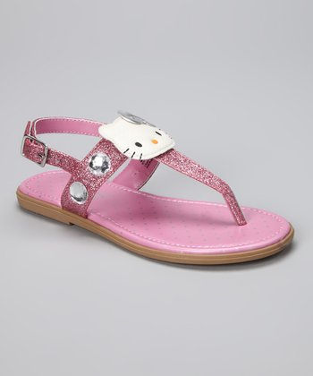 Pink Hello Kitty Jewell Sandal