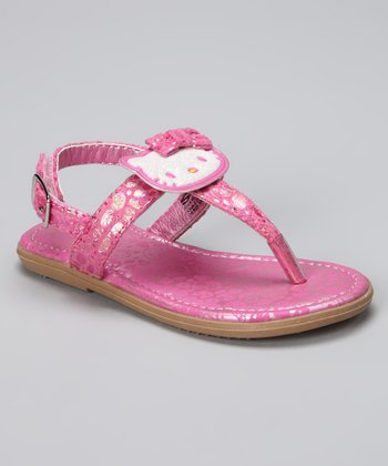 Pink Snake Hello Kitty Angie Sandal