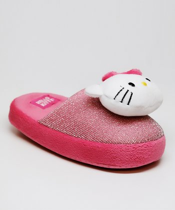 Pink Hello Kitty Annie Slipper