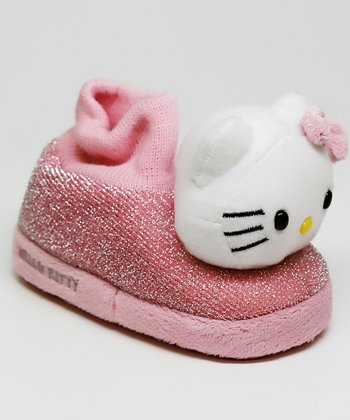 Pink Hello Kitty Betty Boot Slipper