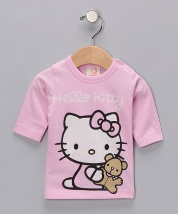 Pink Hello Kitty Bear Organic Tee - Infant