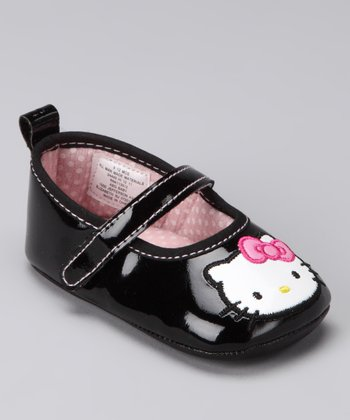 Black Patent Hello Kitty Mary Jane