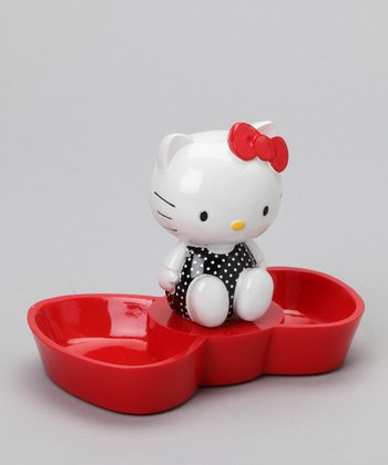 Red Bow Hello Kitty Jewelry Tray