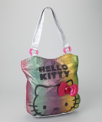 Hello Kitty Silver Viva La Glam Sequin Tote