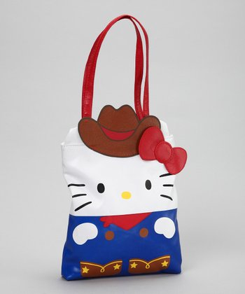 Iconic Cowgirl Hello Kitty Mini Tote