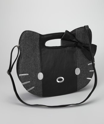 Black & Gray Hello Kitty Bag