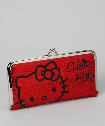 Hello Kitty Red Sequin Wallet