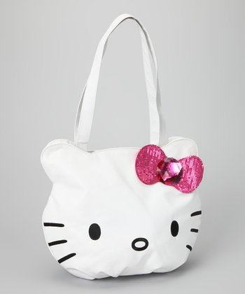 Hello Kitty White Bag