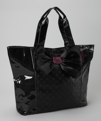 Hello Kitty Black Shopper