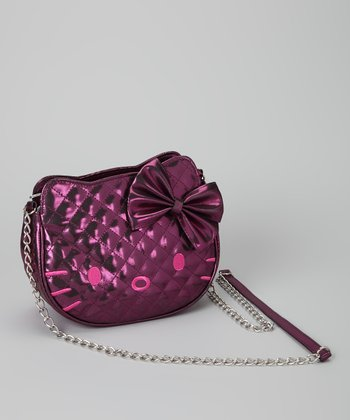 Pink Hello Kitty Quilted Shoulder Bag