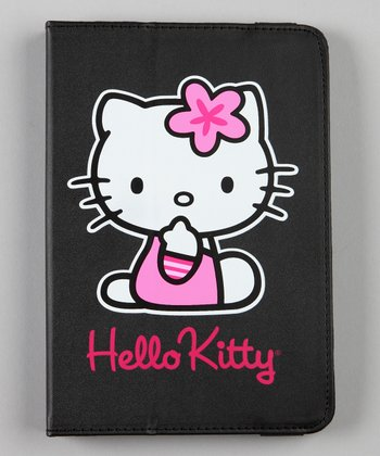 Black Hello Kitty Portfolio for Kindle Fire