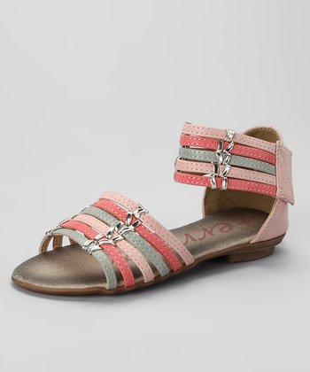 Light Pink & Fuchsia Sandal