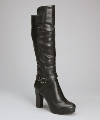 Black Lopez Boot