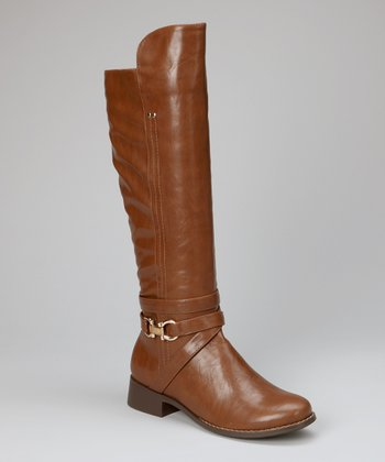 Dark Cognac Transporter Boot