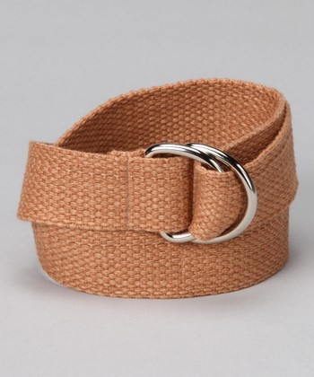 Café au Lait D-Ring Belt