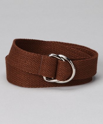 Espresso D-Ring Belt