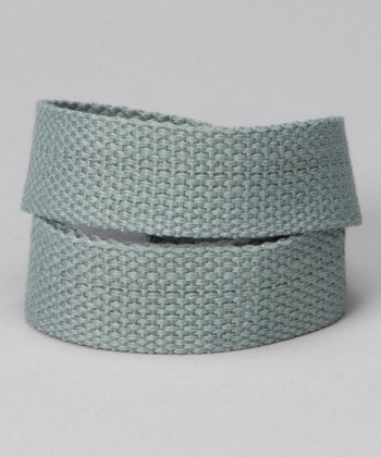 Gear Head Gray Velcro Belt