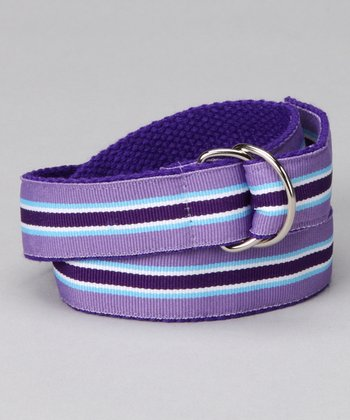 Grape Punch D-Ring Belt