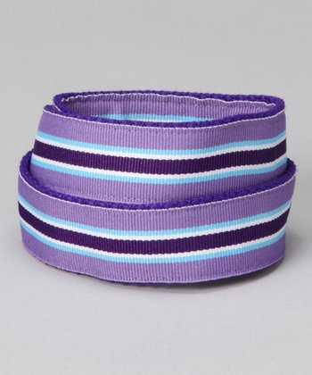 Grape Punch Velcro Belt