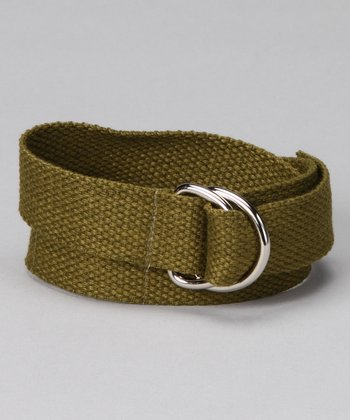 Olive You D-Ring Belt