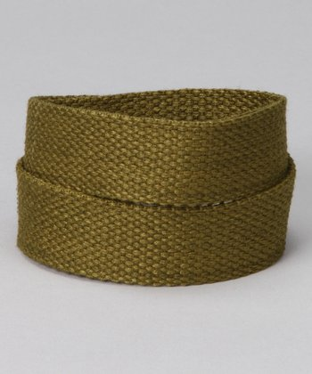 Olive You Velcro Belt
