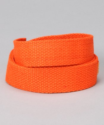 Outrageous Orange Velcro Belt