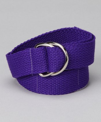 Purple Pizzazz D-Ring Belt