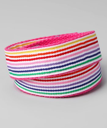 Rainbow Splash Velcro Belt