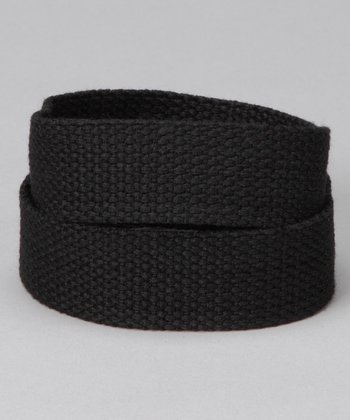 Raven Black Velcro Belt