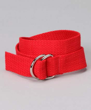 Rockin' Red D-Ring Belt