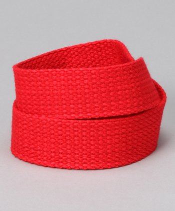 Rockin' Red Velcro Belt