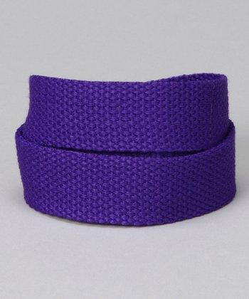 Purple Pizzazz Velcro Belt