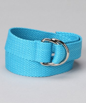 Twinklin' Turquoise D-Ring Belt