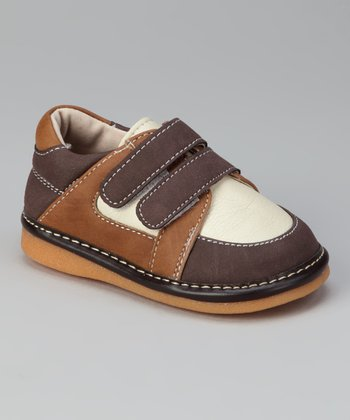 Brown & Chestnut Bradley Squeaker Shoe