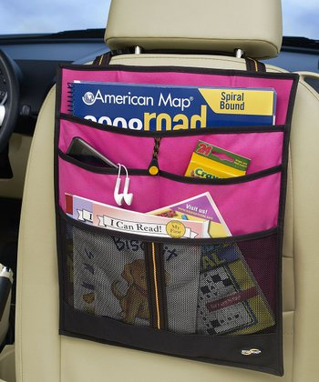 Pink Backseat Organizer
