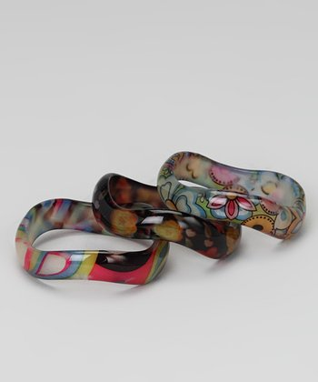 Hipbabies Groovy Bangle Bracelet Set