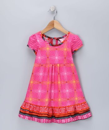 Fuchsia Melanie Dress - Infant & Toddler