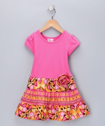 Pink Bella Dress - Infant & Toddler