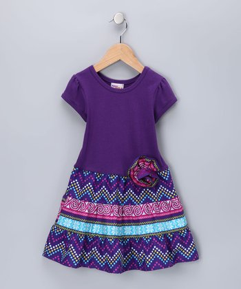 Purple Bella Dress - Infant