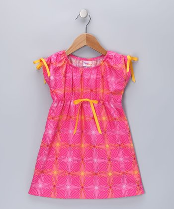 Fuchsia Lexi Dress - Toddler & Girls