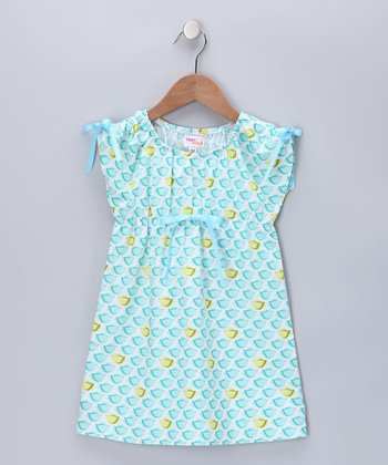 Light Blue Lexi Dress - Girls
