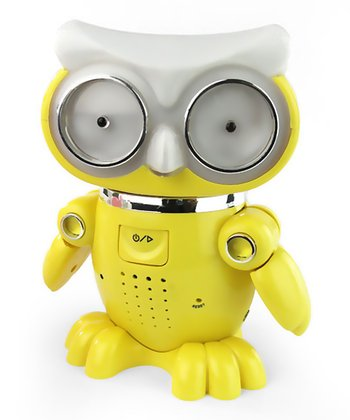 Yellow Owl Dancing Speaker