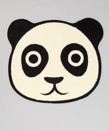 Black & White Panda Floor Mat