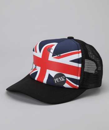 Red, White & Blue Union Jack Mesh Trucker Hat