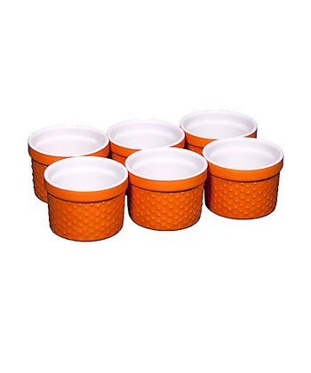 Orange Ramekin - Set of Six