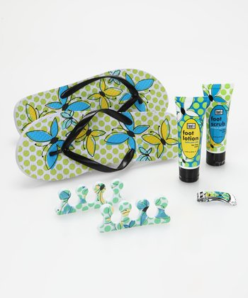 Butterfly Chic Complete Pedicure Set